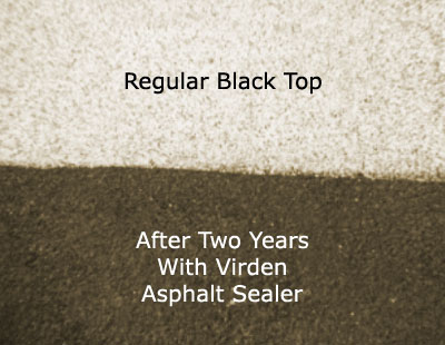 Asphalt / Black Top Sealer