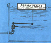 tank float valves
